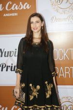 Claudia Ciesla at the Red Carpet Of The Sangeet Of Yuvika Chaudhary And Prince Narul on 11th Oct 2018 (17)_5bc0c066098a9.JPG