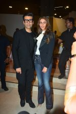 Karan Johar at Shweta Bachchan Nanda's Debut Novel Paradise Towers Launched By Amitabh And Jaya on 10th Oct 2018