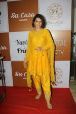 Mandana Karimi at the Red Carpet Of The Sangeet Of Yuvika Chaudhary And Prince Narul on 11th Oct 2018 (1)_5bc0c0dc90e95.JPG