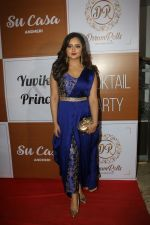 Rashmi Desai at the Red Carpet Of The Sangeet Of Yuvika Chaudhary And Prince Narul on 11th Oct 2018 (23)_5bc0c10b4e890.JPG