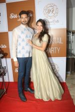 Rochelle Rao at the Red Carpet Of The Sangeet Of Yuvika Chaudhary And Prince Narul on 11th Oct 2018 (20)_5bc0c1168539d.JPG