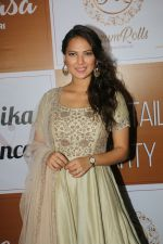 Rochelle Rao at the Red Carpet Of The Sangeet Of Yuvika Chaudhary And Prince Narul on 11th Oct 2018 (22)_5bc0c11a65462.JPG