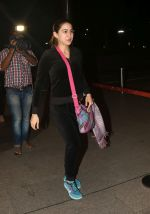 Sara Ali Khan spotted at airport as they leave for the shoot of Simba on 11th Oct 2018