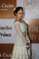 Yuvika Chaudhary at the Red Carpet Of The Sangeet Of Yuvika Chaudhary And Prince Narul on 11th Oct 2018