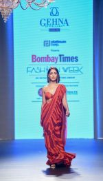 Yami Gautam walk the ramp at Bombay Times Fashion Week (BTFW) 2018 Day 2 for Arpita Mehta Show on 16th Oct 2018