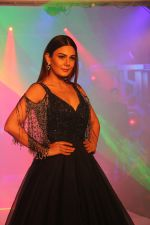Aanchal Kumar walk the ramp during the Exhibit Tech Fashion tour in jw marriott juhu on 18th Oct 2018
