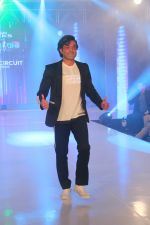 Bobby Deol walk the ramp during the Exhibit Tech Fashion tour in jw marriott juhu on 18th Oct 2018