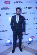 Gaurav Chopra walk the ramp during the Exhibit Tech Fashion tour in jw marriott juhu on 18th Oct 2018