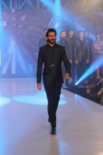 Harshvardhan Kapoor walk the ramp during the Exhibit Tech Fashion tour in jw marriott juhu on 18th Oct 2018