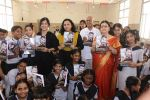 Madhushree & Proudcer Aparna S at Nityanand BMC School- Dussehra Film Promotion on 19th Oct 2018 (142)_5bcd84695f3a1.JPG