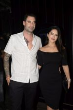 Sunny Leone & Daniel Webber Spotted At B Lounge Juhu on 21st Oct 2018 (14)_5bceb92498074.JPG