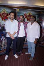 Amit Sharma, Shanatanu Srivastava, Akshat Ghildial at the Interview with Director & Writer of Film Badhaai Ho on 23rd Oct 2018 (105)_5bd0176891bc7.JPG