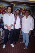 Amit Sharma, Shanatanu Srivastava, Akshat Ghildial at the Interview with Director & Writer of Film Badhaai Ho on 23rd Oct 2018 (93)_5bd01762a4024.JPG