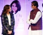 Amitabh Bachchan, Shweta Nanda at the launch of Dr Jayshree Sharad_s book Skin Rules at Bal Gandharva Rangmandir in bandra on 24th Oct 2018 (16)_5bd18a7baa42f.JPG