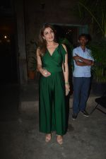 Raveena Tandon spotted with family at Pali Bhavan restaurant in bandra on 25th Oct 2018 (13)_5bd2c505677bc.JPG