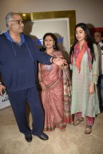 Janhvi Kapoor, Boney Kapoor at the Screening Of Film Haat The Weekly Bazaar At The View In Andheri on 26th Oct 2018 (87)_5bd44e2ce9f54.JPG