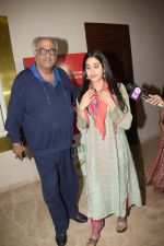 Janhvi Kapoor, Boney Kapoor at the Screening Of Film Haat The Weekly Bazaar At The View In Andheri on 26th Oct 2018 (89)_5bd44e2e50281.JPG