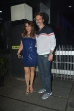 Raveena Tandon With Husband Anil Thadani Spotted At Hakkasan In Bandra on 26th Oct 2018 (2)_5bd443fe5ac02.JPG
