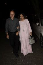 Anupam Kher, Kiron Kher spotted at Anil Kapoor_s house for Karvachauth celebration in Juhu on 27th Oct 2018 (161)_5bd6bd96c68a8.JPG