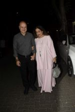 Anupam Kher, Kiron Kher spotted at Anil Kapoor_s house for Karvachauth celebration in Juhu on 27th Oct 2018 (163)_5bd6bdaad4b9c.JPG