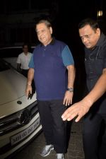 David Dhawan spotted at Anil Kapoor_s house for Karvachauth celebration in Juhu on 27th Oct 2018 (16)_5bd6bdd304363.JPG