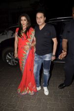 Krishika Lulla, Sunil Lulla  spotted at Anil Kapoor_s house for Karvachauth celebration in Juhu on 27th Oct 2018 (142)_5bd6bdefa08de.JPG