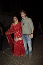 Raveena Tandon spotted at Anil Kapoor_s house for Karvachauth celebration in Juhu on 27th Oct 2018 (135)_5bd6bee96e021.JPG