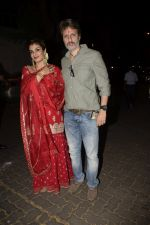 Raveena Tandon spotted at Anil Kapoor_s house for Karvachauth celebration in Juhu on 27th Oct 2018 (138)_5bd6bef072471.JPG