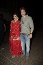 Raveena Tandon spotted at Anil Kapoor_s house for Karvachauth celebration in Juhu on 27th Oct 2018 (146)_5bd6bf02a0ebf.JPG