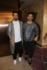 Ayushmann Khurrana, Aparshakti Khurana spotted at jw mariott juhu on 28th Oct 2018 (19)_5bd81b95db87c.JPG