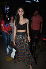 Ananya Panday spotted at Bastian in bandra on 30th Oct 2018