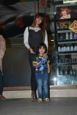 Ayesha Takia Spotted With Son At Freeda Salon In Bandra on 31st Oct 2018 (11)_5bdafece2a3e1.JPG