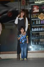 Ayesha Takia Spotted With Son At Freeda Salon In Bandra on 31st Oct 2018 (9)_5bdafec884b2b.JPG