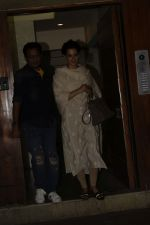 Kangana spotted at Kamal Jain_s office in juhu on 3rd Nov 2018 (2)_5bdfee3384349.JPG