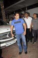 Salman Khan at Shilpa Shetty_s Diwali party at juhu on 4th Nov 2018 (17)_5be0146e49ccb.JPG