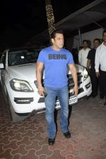 Salman Khan at Shilpa Shetty_s Diwali party at juhu on 4th Nov 2018 (20)_5be01472c09c6.JPG