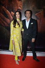 Abhishek Kapoor with his wife Pragya Yadav at the Trailer Launch Of Film Kedarnath on 12th Nov 2018 (55)_5bea84f2c5e4f.JPG