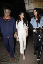 Janhvi Kapoor, Khushi Kapoor, Boney at Boney Kapoor Birthday Celebrations in Arjun Kapoor_s House In Juhu on 11th Nov 2018 (62)_5bea762a92bfb.JPG