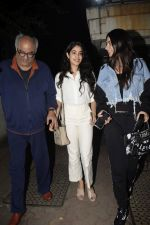 Janhvi Kapoor, Khushi Kapoor, Boney at Boney Kapoor Birthday Celebrations in Arjun Kapoor_s House In Juhu on 11th Nov 2018 (64)_5bea7715ebe04.JPG