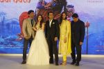 Sara Ali Khan, Sushant Singh Rajput, Abhishek Kapoor with his wife Pragya Yadav, Ronnie Screwvala at the Trailer Launch Of Film Kedarnath on 12th Nov 2018 (17)_5bea7d077acf1.JPG