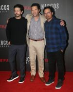 Diego Luna,  Eric Newman, Michael Pena at the Screening Of Narcos Mexico on 13th Nov 2018 (16)_5bebc52a5b915.JPG