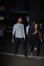 Krunal Pandya With Wife Spotted At Hakkasan In Bandra on 15th Nov 2018 (13)_5bee767a021ce.JPG