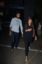 Krunal Pandya With Wife Spotted At Hakkasan In Bandra on 15th Nov 2018 (14)_5bee767c30220.JPG