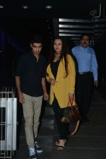 Poonam Dhillon with  Son Anmol & Daughter Paloma spotted at Hakkasan in bandra on 15th Nov 2018 (16)_5bee769660137.JPG