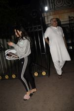 Janhvi Kapoor, Boney Kapoor spotted at arjun Kapoor_s house in juhu on 19th Nov 2018 (4)_5bf3b7813d14d.JPG