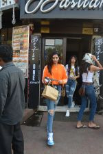 Khushi Kapoor and Anjali Dhawan spotted at Bastian bandra on 18th Nov 2018 (6)_5bf3a77ddb08a.JPG