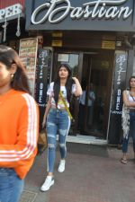 Khushi Kapoor and Anjali Dhawan spotted at Bastian bandra on 18th Nov 2018 (7)_5bf3a7809e17b.JPG