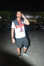 Arjun rampal with Gabriela spotted at football ground in bandra on 21st Nov 2018