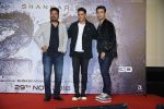 Akshay Kumar, Karan Johar, S. Shankar at the Press Conference for film 2.0 in PVR, Juhu on 25th Nov 2018  (9)_5bfb98f46e6d4.JPG