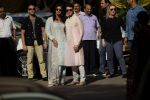 Priyanka  Chopra and Nick Jonas posing for media after finishing their wedding puja at her Versova House on 28th Nov 2018 (47)_5bff90d91fa55.JPG